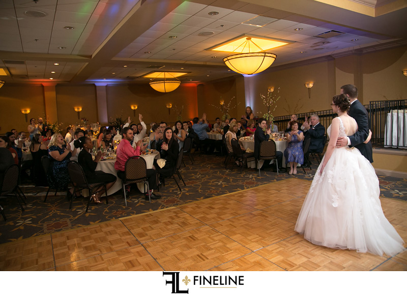 Embassy Suites Wedding Reception | Maggie and Rob