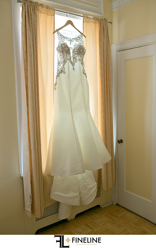 George Washington Hotel Washington PA FINELINE Wedding bride's dress