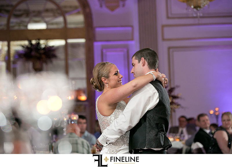 George Washington Hotel Washington PA FINELINE Weddings first dance