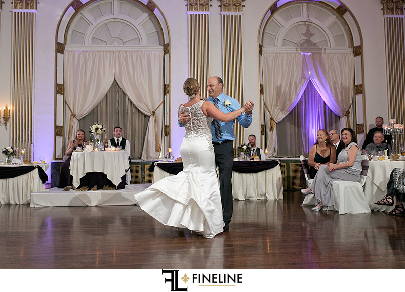 George Washington Hotel Washington PA FINELINE Weddings father daughter dance