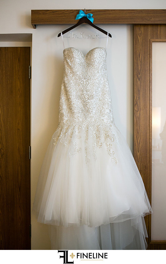 brides dress FINELINE weddings Greensburg PA