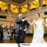 Soldiers and Sailors Wedding Reception | Bethany and Chip