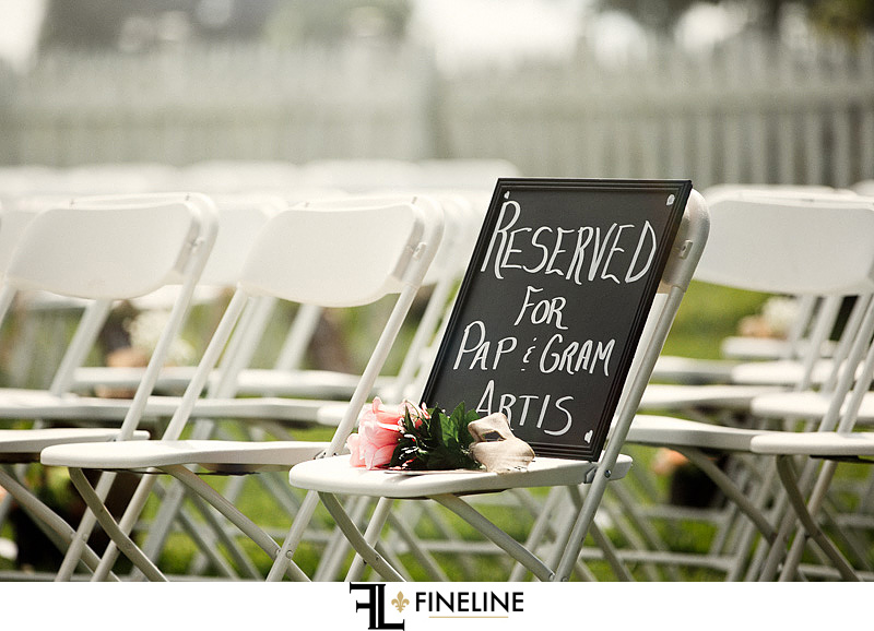reserved for grand parents who have passed away