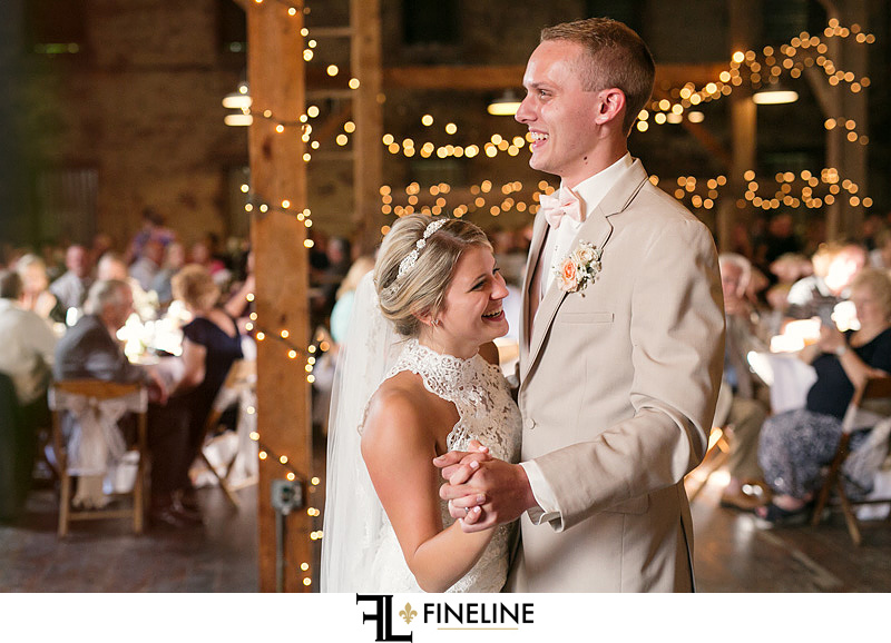 first dance West Overton Barn FINELINE Weddings Greensburg PA