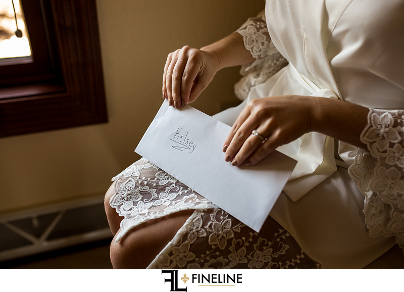 letter from groom on wedding day