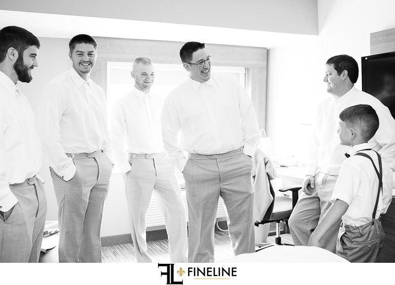groom getting ready FINELINE weddings Greensburg PA
