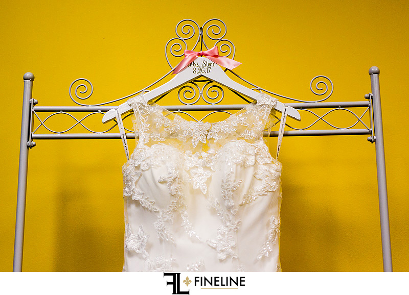wedding dress and yellow FINELINE weddings Greensburg PA