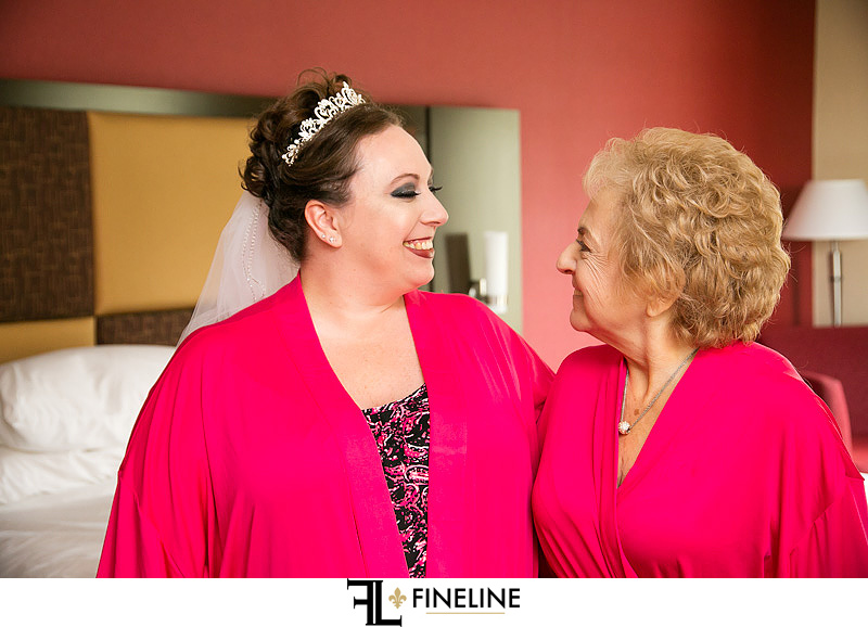 bride and mother FINELINE weddings Greensburg PA