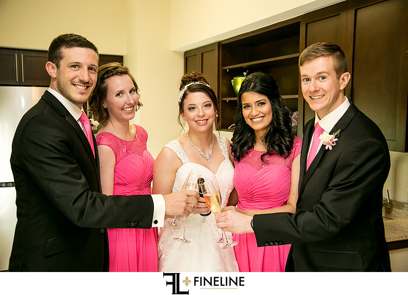 bridal party FINELINE weddings photography Greensburg PA