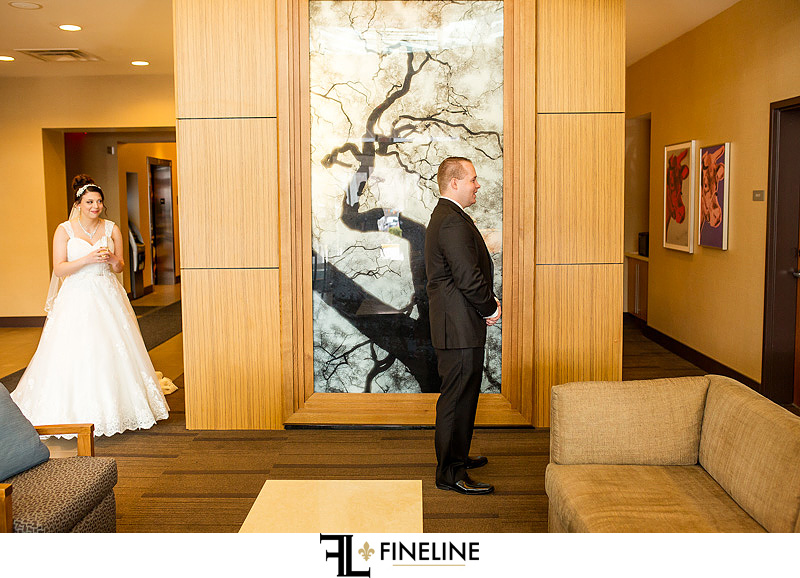 First Look FINELINE weddings photography Greensburg PA