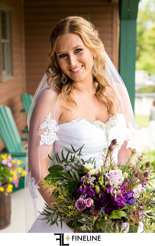 wild flowers photos by FINELINE weddings Greensburg PA