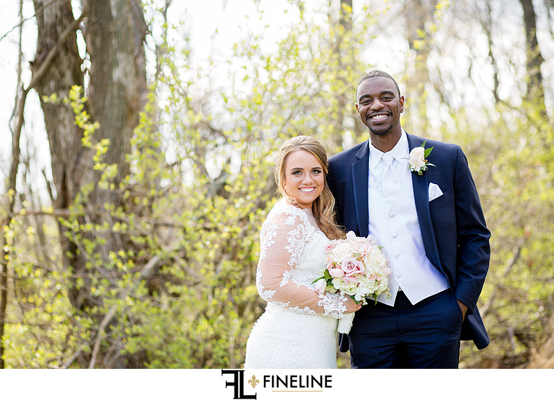 Outdoor Bridal party photography FINELINE Weddings Greensburg