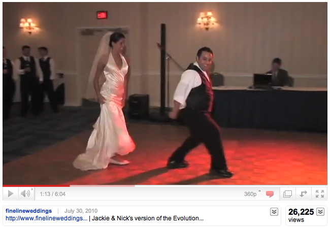 Wedding Dance YouTube views