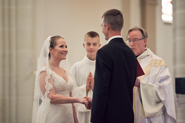 Saint Vincent Basilica Wedding - Sara and David