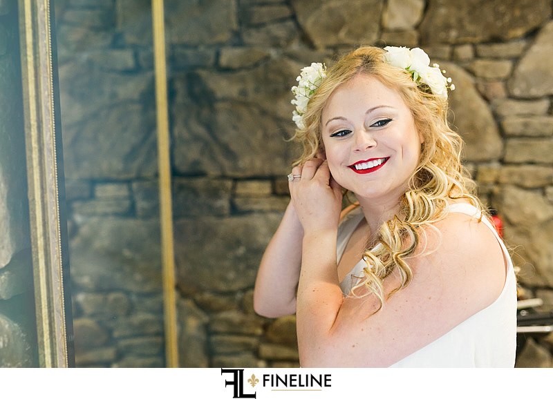 bride FINELINE weddings Greensburg PA