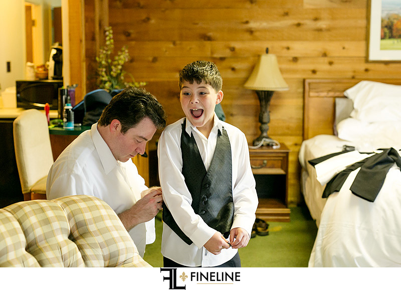getting ready FINELINE weddings Greensburg PA