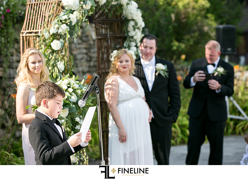 ceremony Hidden Valley Resort FINELINE weddings Greensburg PA