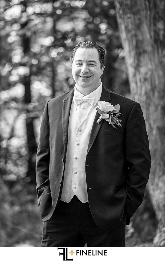 groom Hidden Valley Resort FINELINE weddings Greensburg PA