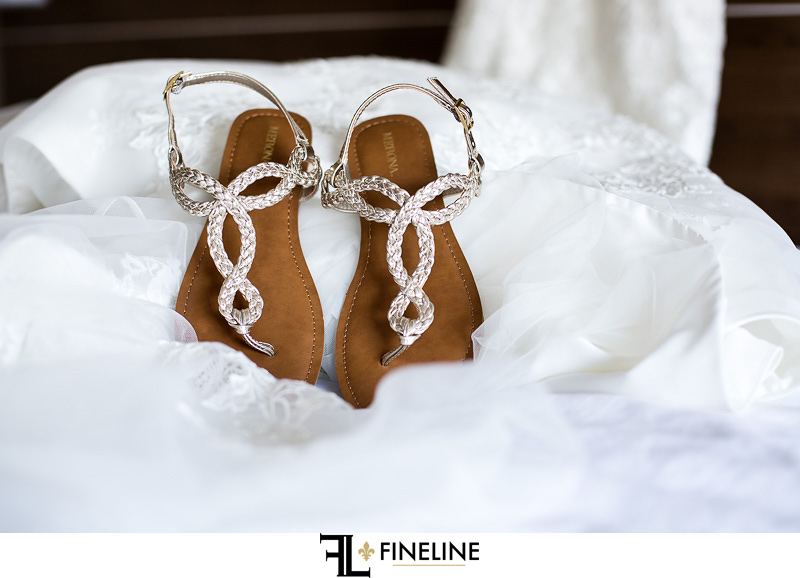 Wedding at West Overton Barn, Scottdale PA bride's shoes sandals Merona Target