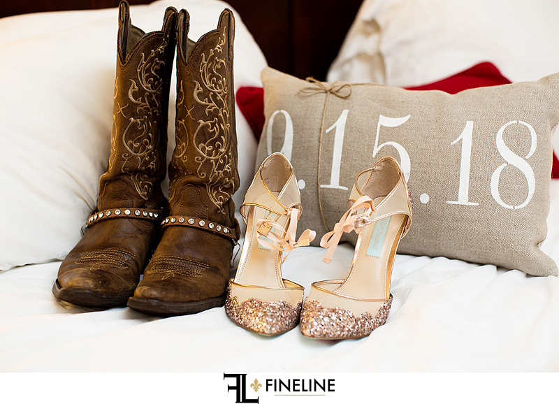 heels and boots photo by FINELINE Weddings Greensburg, PA