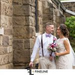bride and groom FINELINE weddings Greensburg PA