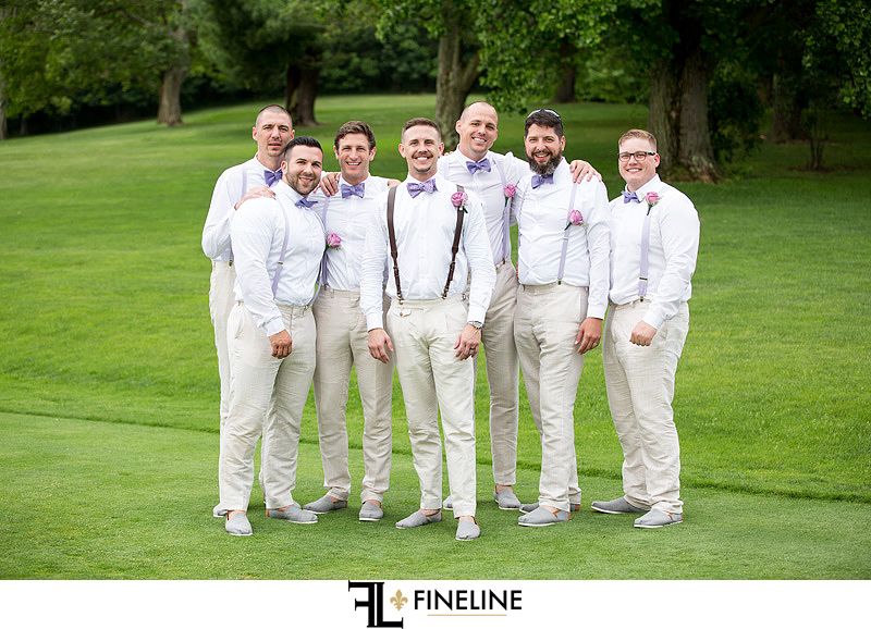Bridal party in TOMS FINELINE weddings Greensburg PA