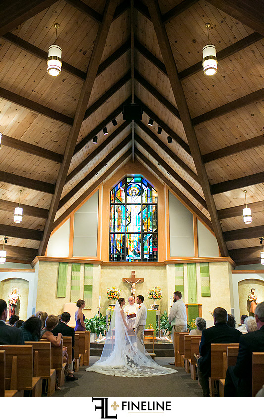 Mother of Sorrows Church Murrsville FINELINE weddings Greensburg PA