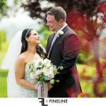 bride and groom photos by FINELINE Weddings Greensburg PA