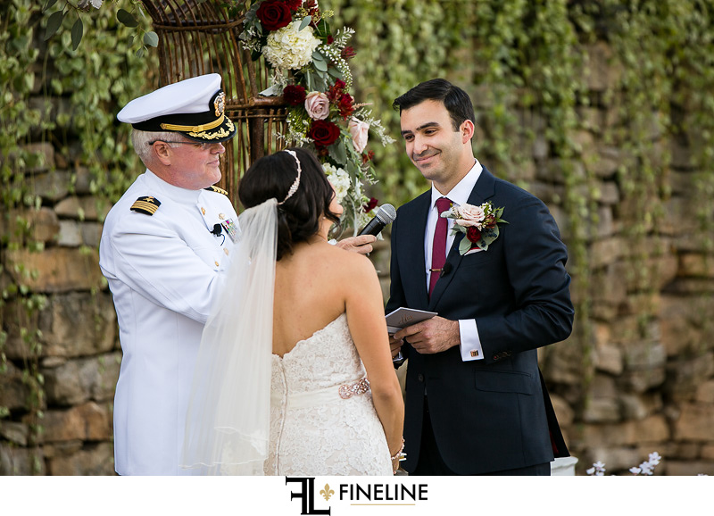 officiant in uniform