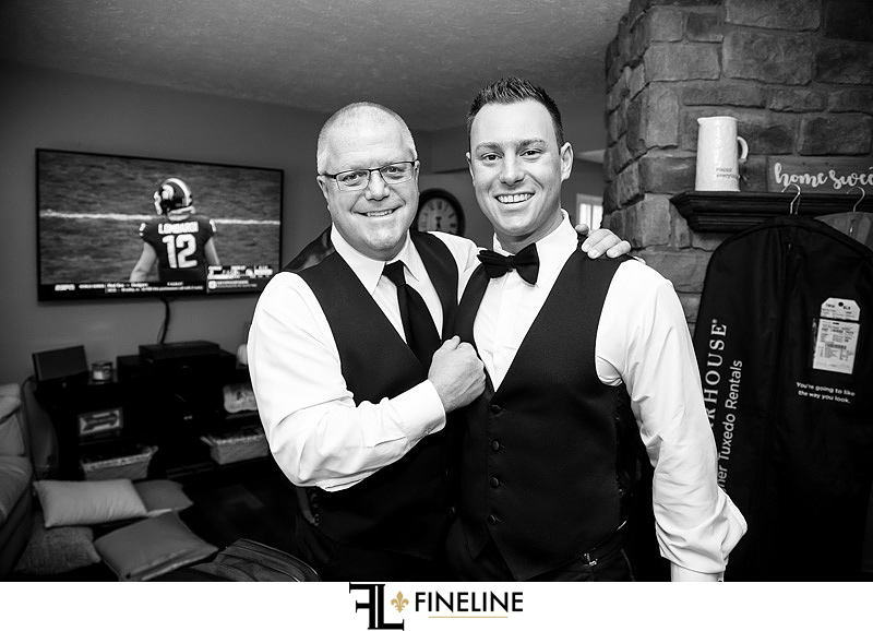 father of the groom photo by FINELINE Weddings Greensburg PA
