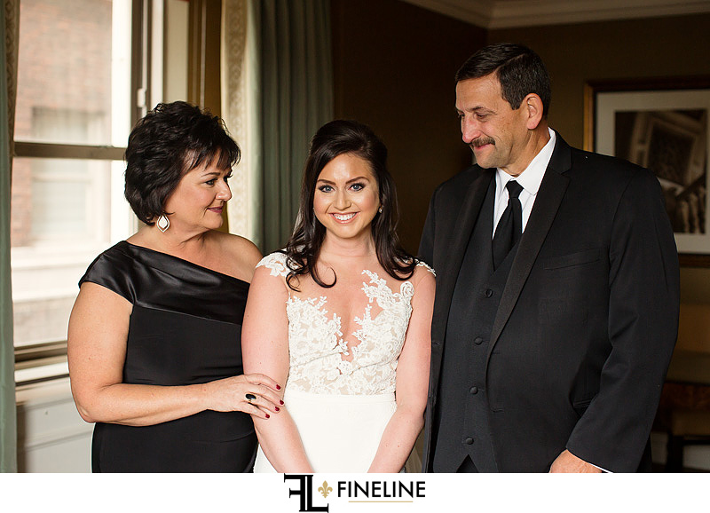 brides parents photo by FINELINE Weddings Greensburg PA
