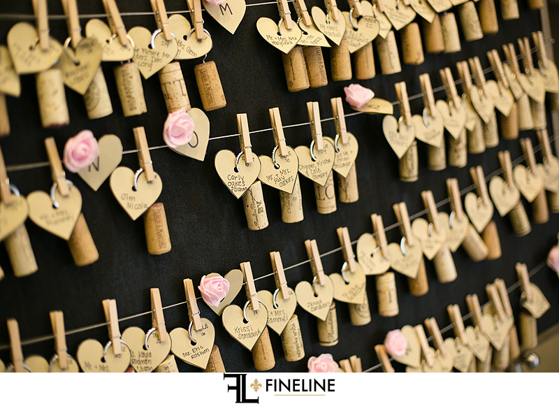 wine cork name cards seat assignments wedding