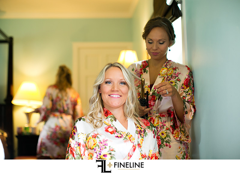 Bride getting ready photo by FINELINE weddings Greensburg, PA