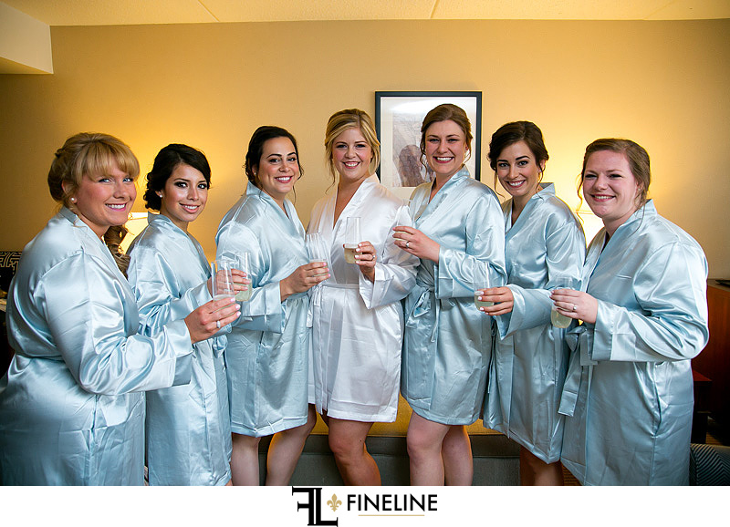 blue robes photos by FINELINE Weddings Greensburg PA