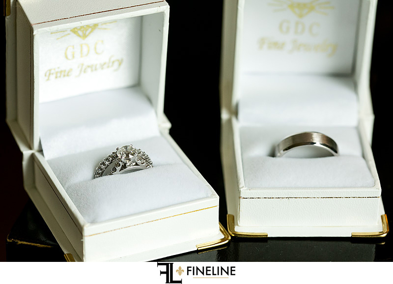 wedding rings photo by FINELINE weddings Greensburg, PA