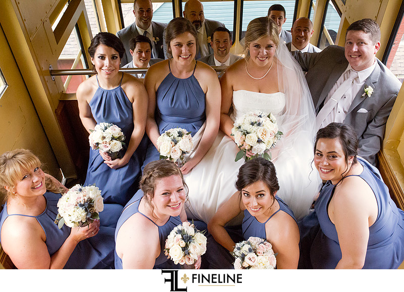 Incline Downtown Pittsburgh Wedding photos by FINELINE Weddings Greensburg PA