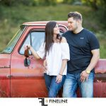 FINELINE studio engagement session- Abby and Ryan
