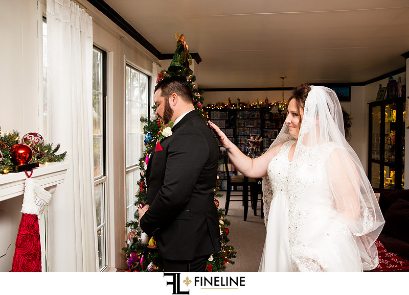 first lookphoto by FINELINE Weddings Greensburg, PA