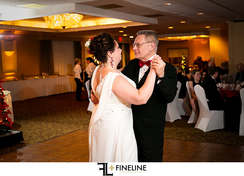 Comfort Inn, Pittsburgh wedding reception photo by FINELINE Weddings Greensburg, PA