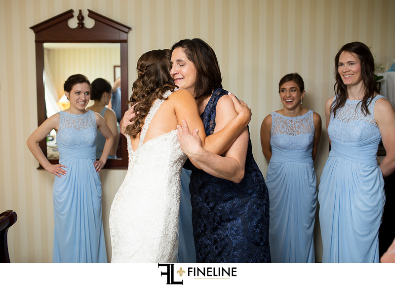 Getting ready photos by FINELINE Weddings Greensburg, PA
