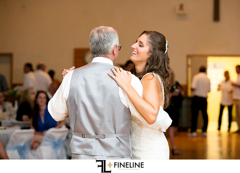 Marian Hall Wedding Reception photo by FINELINE Weddings Greensburg, PA