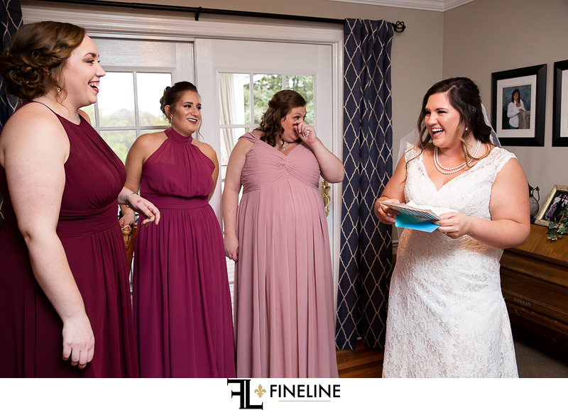 pink mauve raspberry bridesmaid dresses