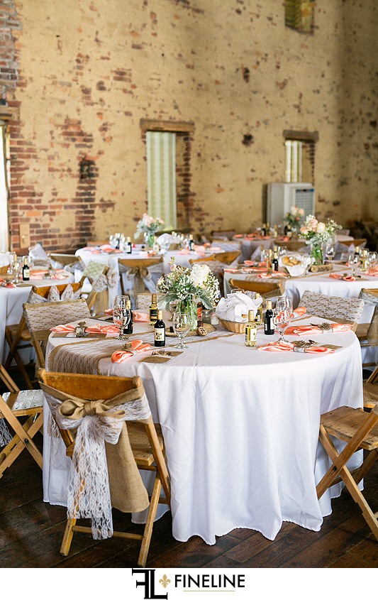pink tan and white wedding colors