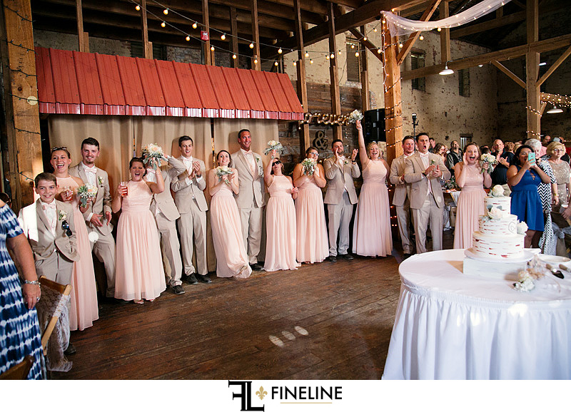 bridal party welcome