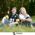 FINELINE weddings engagement photography at FINELINE studio in Greensburg PA