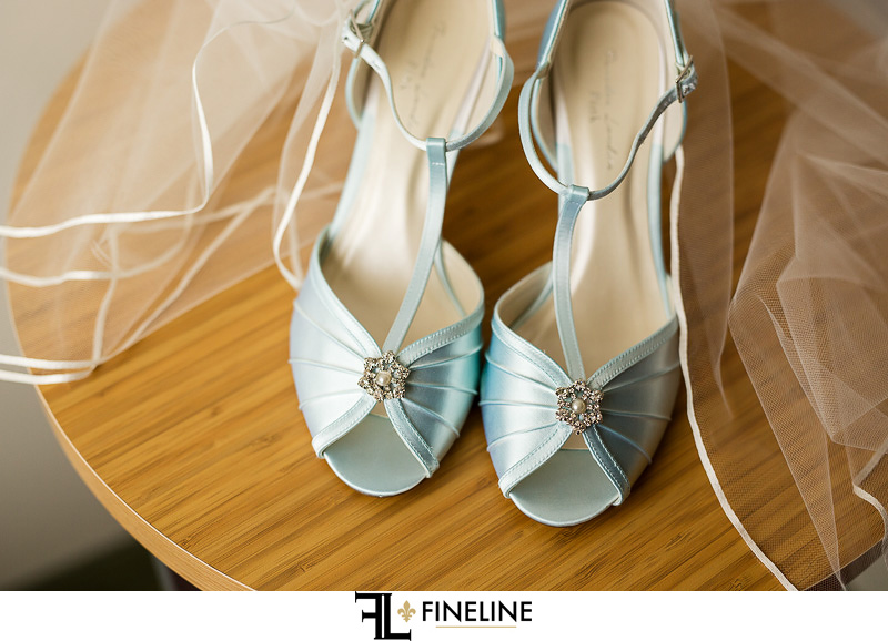 vlue shoes photo by FINELINE Weddings Greensburg, PA