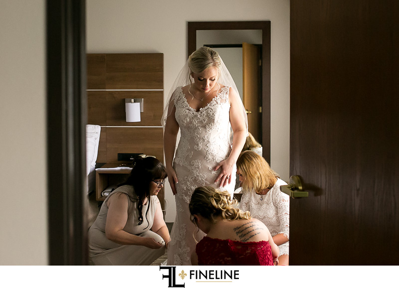 hotel wedding FINELINE weddings Greensburg PA