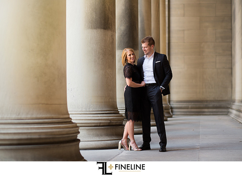 Pittsburgh Engagement Photo by FINELINE Weddings Greensburg, PA