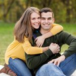 FINELINE weddings Engagement photos Greensburg PA outdoor session in fall
