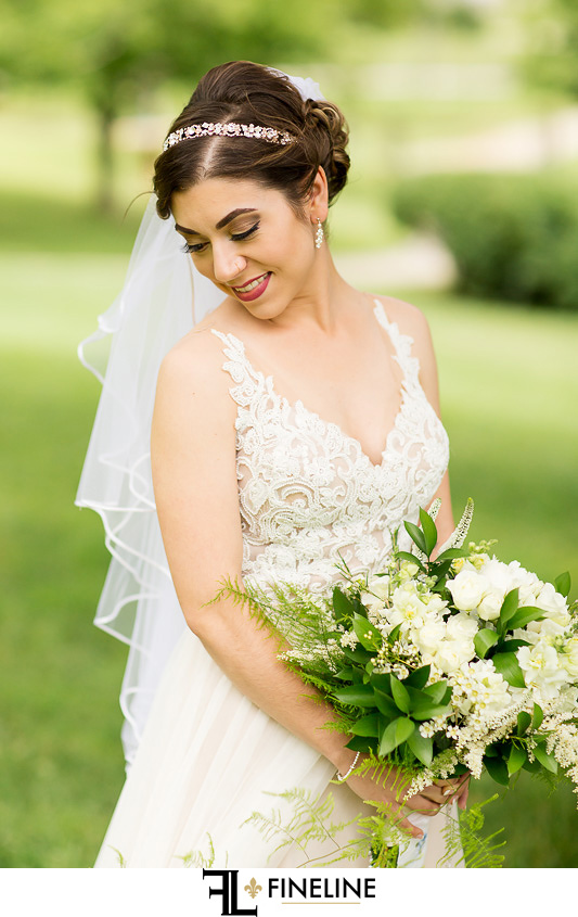 bride photo by FINELINE Weddings Greensburg PA